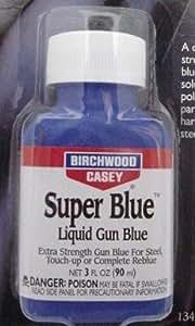スーパーブルー鉄 亜鉛合金黒染めSuper Blue リキッドガンブルー バーチウッド