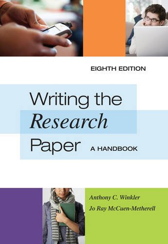 guidelines for writing a history research paper