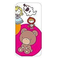 ホワイトナッツ Galaxy S5 SCL23 ケース クリア TPU プリント パターンA(cw-241) スリム 薄型 キャラクター くま WN-PR431659