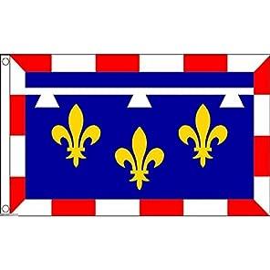 国旗 サントル ヴァル ド ロワール地域圏 フランス 特大フラッグ【ノーブランド品】