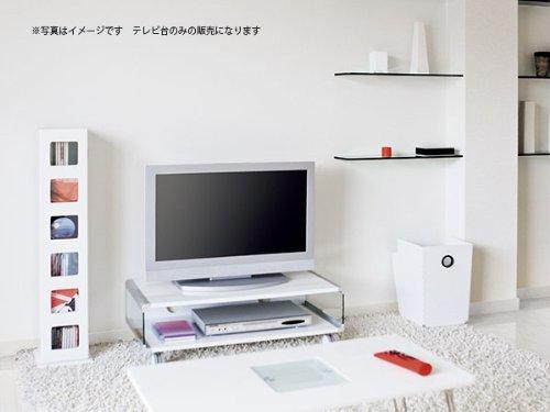 テレビ台 TVR-8040(WH) 【代引き不可】