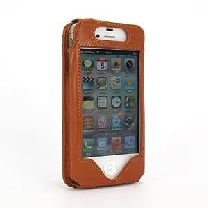 Sena Cases SP322:iPhone4S用カードホルダー付き本革ケース「WALLET SLIM for iPhone4S (タン)」