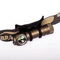 ZEBRALIGHT H51 Headlamp AA 200Lm / Cree XP-G Cool White