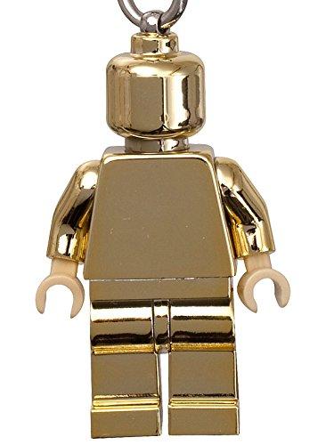 LEGO クラシック: ゴールド ミニフィギュア キーホルダー