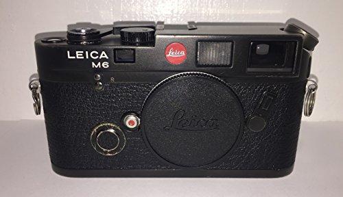 Leica m6?TTL 35?mm Rangefinderカメラボディ(ブラック)