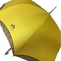 WPS ヒョウ柄の黄色い傘