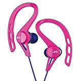 JVC HA-EXC25-P canal type earphone drip-proof specification Pink sports by JVC [並行輸入品]