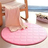 丸型リビングルーム用カーペット、寝室用ベッドサイドブランケット、コンピュータチェアマット、ホームカーペット、4