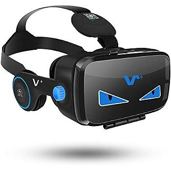 V+ FE 3DVR ゴーグル イヤホン実装 黒