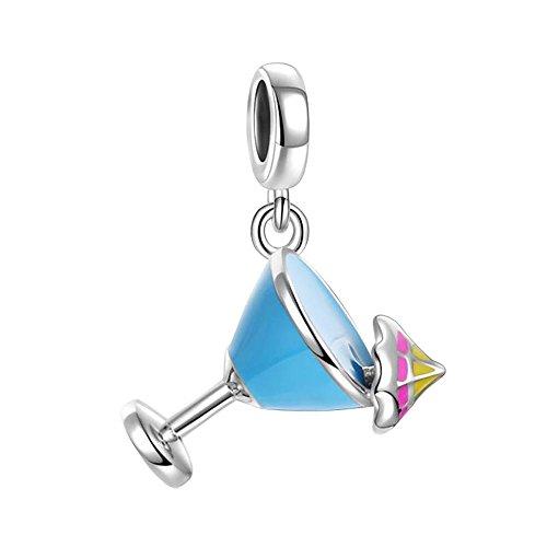 [해외]SOUFEEL 팔찌 매력 범선 우표 음료 펜던트 925 발렌타인 여성/SOUFEEL bracelet charm sail boat drink pendant silver 925 Valentine Women`s