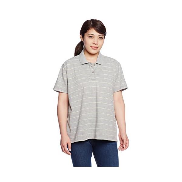 [セシール] ポロシャツ UVカットレディス...の紹介画像64