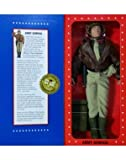 """G.I. Joe Year 1996 Limited Edition World War II 50th Anniversary Commemorative 12 Inch Tall Action Figure - ARMY GENERAL with Dark-Shade Winter Shirt, Khaki """"Battle Dress"""" Pants, Regulation Tucked-In Tie, General's Helmet, Customized Bomber Jacket, P by Hasbro [並行輸入品]"""