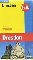 Falk Cityplan Dresden 1 : 20 000: Durchfahrtsplan, Verkehrslinienplan, Strassenverzeichnis mit Postleitzahlen
