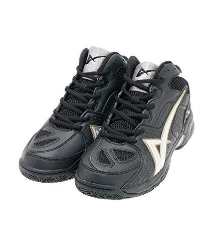 ビジョンクエスト バスケットボール バスケットシューズ VQ570402F02 BK/SI/GD 24.5