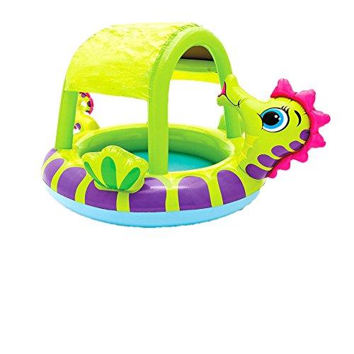 [해외]INTEX (인텍스) 해마 베이비 풀 188 × 147 × 104cm 57110 [일본 정품]/INTEX (INTEX) Sea Horse Baby Pool 188 x 147 x 104 cm 57110 [Japanese Genuine]