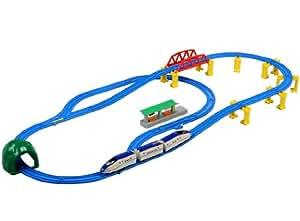 プラレール E7系北陸新幹線かがやき 立体レールセット
