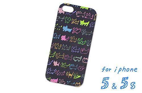 iPhone5/5s AIUEO iPhone Case NEKO BORDER BCO