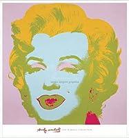 ポスター アンディ ウォーホル マリリンモンロー (Marilyn) 1967(pale pink) 額装品 アルミ製ハイグレードフレーム(ホワイト)