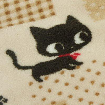 正方形 省スペースこたつ布団セット『 アーバンキャット 』【IT】【tm-P】180×180cm(#9803081) 掛布団&敷布団セット 黒猫