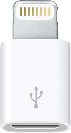 Apple Lightning - Micro USBアダプタ
