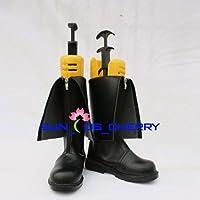 【サイズ選択可】コスプレ靴 ブーツ K-378 Steins;Gate シュタインズ・ゲート 牧瀬紅莉栖 男性28CM