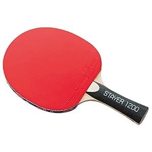 Butterfly(バタフライ) 卓球 ラバーばりラケット シェーク ステイヤー1200 (ボール2個付き) 16700