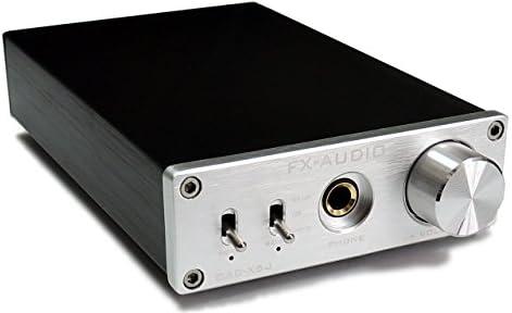 FX-AUDIO- DAC-X6J【シルバー】高性能ヘッドフォンアンプ搭載ハイレゾ対応DAC