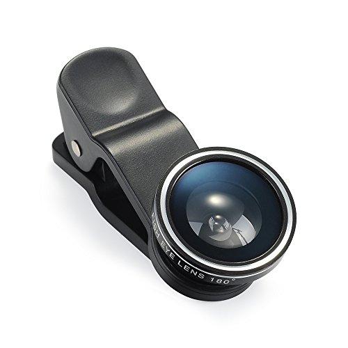 キュートップ カメラレンズ 3点セット(魚眼レンズ、マクロレンズ、広角レンズ)