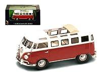 1962 フォルクスワーゲン VW マイクロバス シグネチャーシリーズ ダイカスト 1:43 O ゲージ スケール レッド/ホワイト