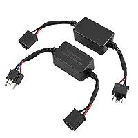 2個のLEDデコーダ、LEDヘッドライトデコーダアンチフリッカーレジスタ、C18 H4