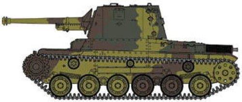 帝国陸軍三式砲線車 [ホニIII] (1/35スケールプラスチックモデル組立キット)