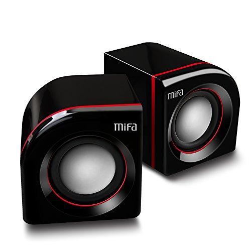 MIFA A36 PCスピーカー【USB給電/2.5W×2/ステレオスピーカー/大音量】