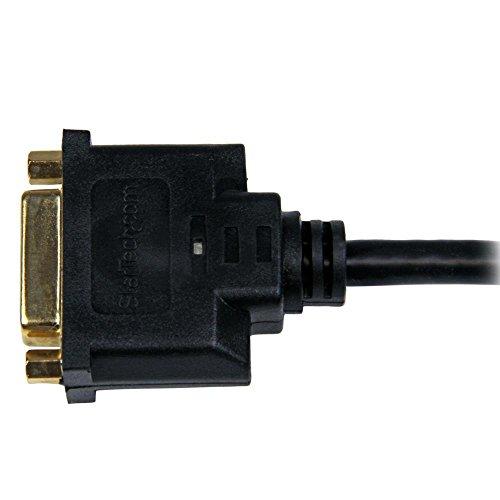 StarTech.com HDMI-DVI-D変換ケーブルアダプタ 20cm HDMI(19ピン) オス-DVI-D(25ピン) メス HDDVIMF8IN