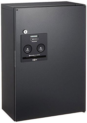 パナソニック(Panasonic) 戸建住宅用宅配ボックス COMBO ハーフタイプ FF(前出し) 右開き 鋳鉄ブラック CTNR4030RTB