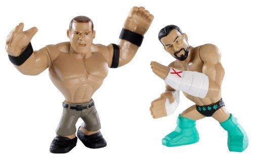 WWE Rumblers CM Punk and John Cena Figure 2-Pack by Mattel [並行輸入品]