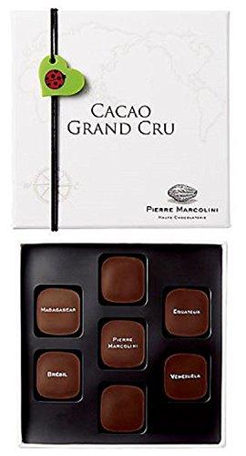ピエールマルコリーニ チョコレート バレンタイン カカオ グランクリュ 7個入