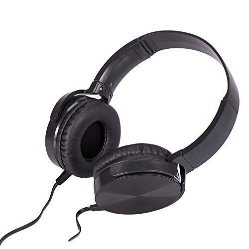 Mclife 密閉型 ステレオヘッドホン ヘッドセット ヘッドフォン 折りたたみ式 高音質 音楽、通話対応  (有線だけ)