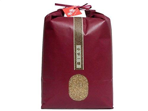 【新米元年産】兵庫県産 無農薬 ミルキークイーン 5kg 玄米 1等