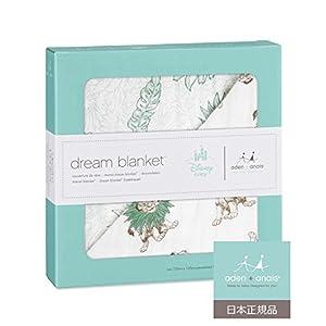 Aden + Anais (エイデンアンドアネイ) 【日本正規品】 モスリンコットン クラシック・ドリーム・ブランケット ディズニー ライオンキング dream blankets-DISN255J