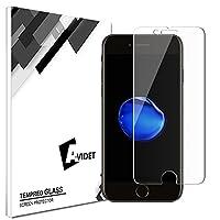 AVIDET For Apple iPhone 8 フィルム iPhone8 ガラスフィルム アイフォン8 9H硬度の液晶保護 2.5D 0.2mm超薄型 日本板硝子社国産ガラス採用 耐指紋 撥油性 高透過率 ラウンドエッジ加工