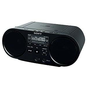 ソニー CD対応ラジオ(ブラック)SONY ZS-S40-B