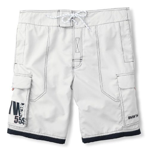 [해외]정식 수입품 BMW YACHTSPORT 하프 팬츠 (남여) 그레이 | 다크 블루 S/Regular Imports BMW YACHTSPORT Half · Pants (Unisex) Gray | Dark Blue S