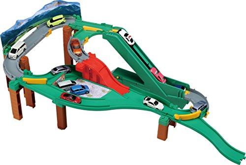 トミカワールド コースをチェンジ! オートやまみちドライブ