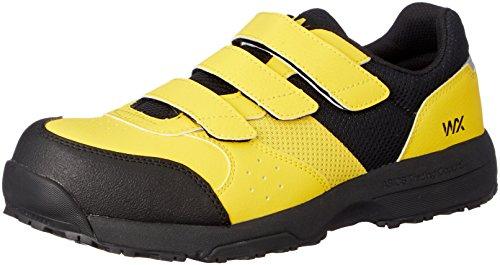 [アシックス商事 テクシーワークス] 安全靴 プロテクティブスニーカー WX-0002 メンズ イエロー 27 cm 3E