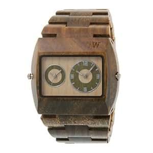 Wewood ウィーウッド Men's 限定品 Jupiter Army Dual Movement Wooden Watch 男性用 メンズ 腕時計 (並行輸入)