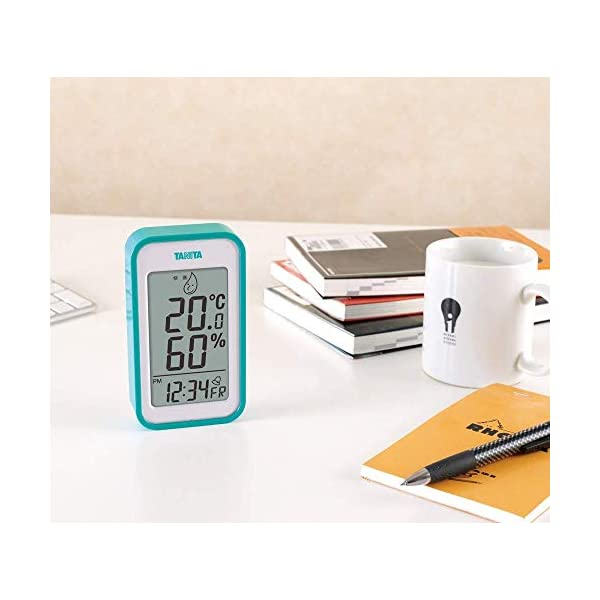 タニタ デジタル温湿度計 置き掛け両用タイプ/...の紹介画像7