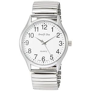 [アリアス]ALIAS 腕時計 アナログ アマルフィ 3気圧防水 ブレスレット ホワイト A40M01 メンズ