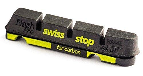 SWISS STOP(スイスストップ) FLASH PRO BLACK PRINCE カーボンリム用 ブレーキシュー [並行輸入品]