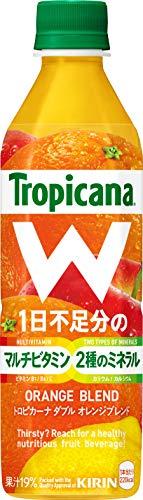 トロピカーナ W オレンジブレンド 500mlPET×24本
