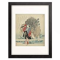葛飾北斎 Katsushika Hokusai 額装アート作品